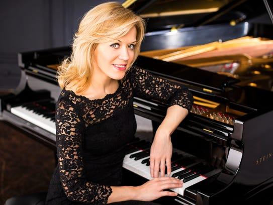 Olga Kern, pianist, photographed at Steinway Hall.