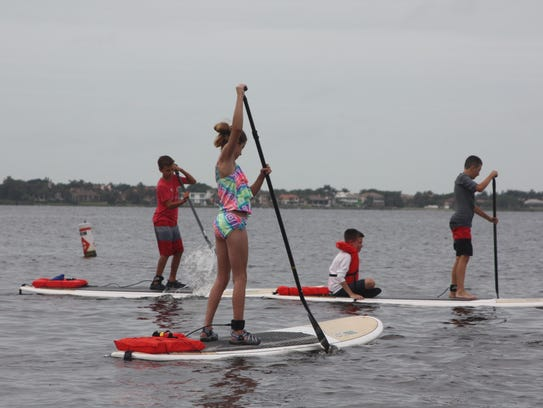 Two more paddleboarding camps will be held at the Cape