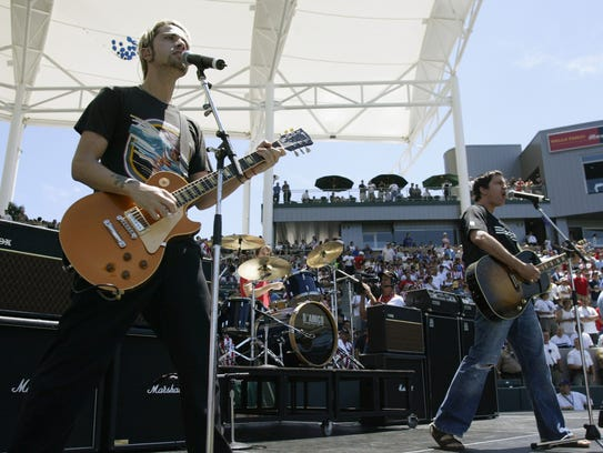 Third Eye Blind performs. The band will perform at