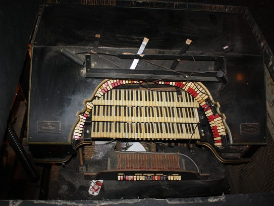 The Mighty Wurlitzer, built in 1928, has three sets