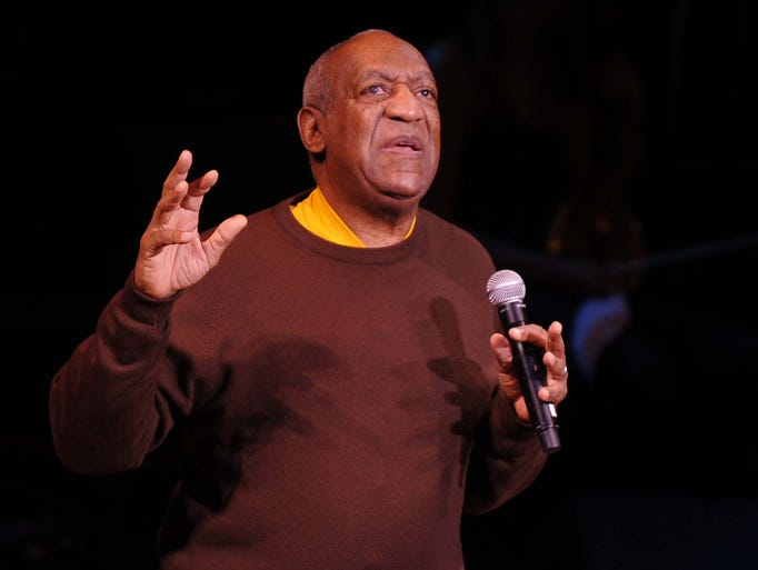 File photo, comedian Bill Cosby performs onstage during