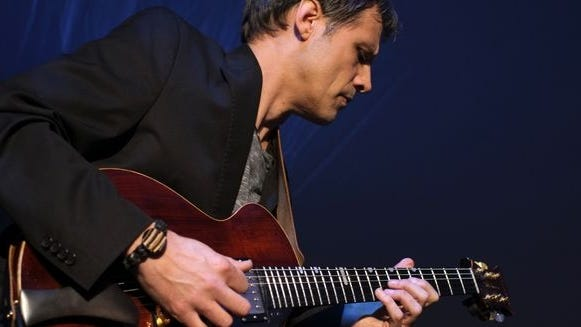 """Space Cycles"" is the new album from jazz guitarist Jim Robitaille (pictured), who cut the album with his trio that includes Bill Miele on electric bass and Chris Poudrier on drums."
