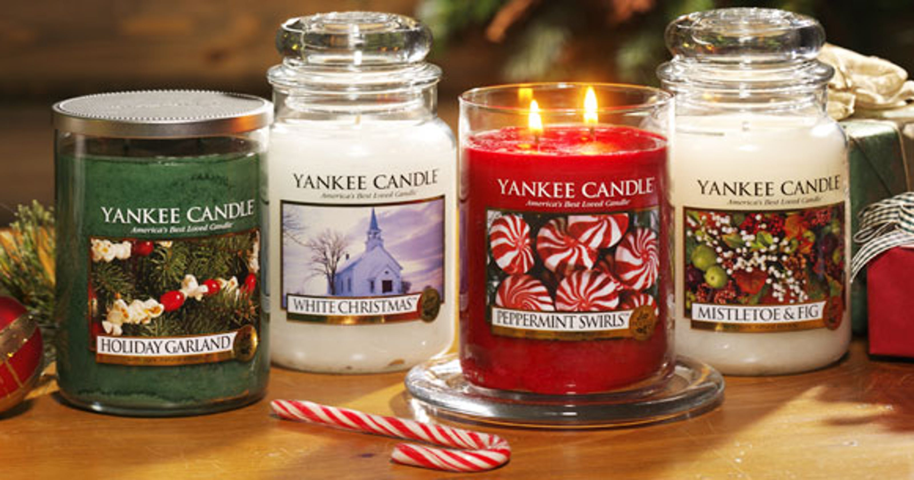 Yankee Candles up to 75 percent off
