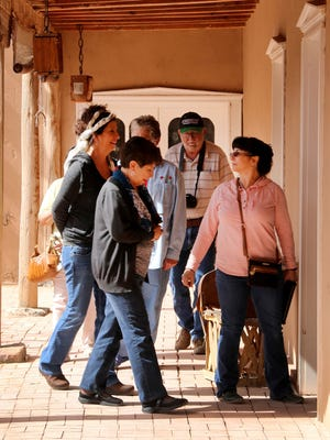 """San Juan College Encore students experience many different sights and locations in New Mexico in the class """"Along the Rio Grande: Spanish Colonial New Mexico."""""""
