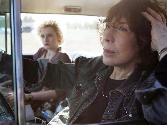 "Lily Tomlin stars in ""Grandma."""
