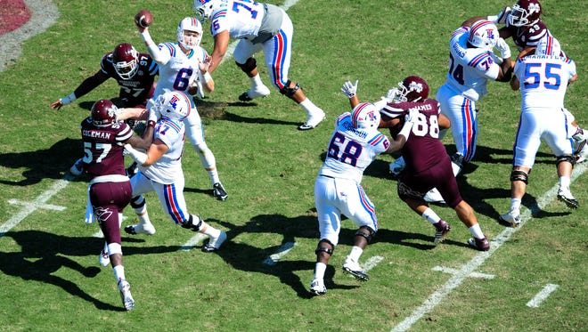 Mississippi State's defense has started slow this year allowing 41 percent of its points in the first quarter.