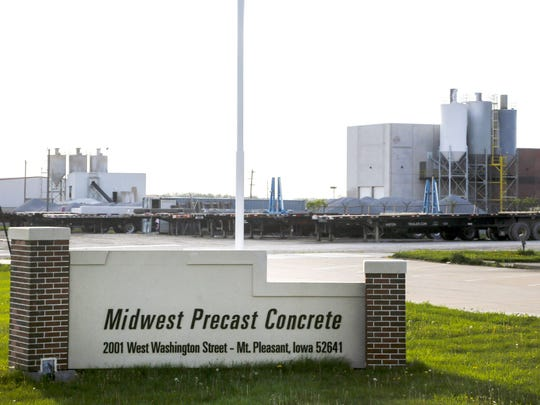 ICE arrested 32 in a raid at Midwest Precast Concrete in Mt. Pleasant Wednesday, May 9, 2018.