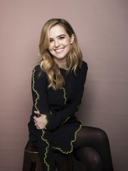 Zoey Deutch, above and left, has been acting since