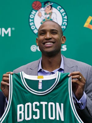 Boston Celtics forward Al Horford.