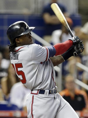 Outfielder Cameron Maybin was the one player the Tigers grabbed themselves in 2005 (No. 10), before sending him to the Marlins.