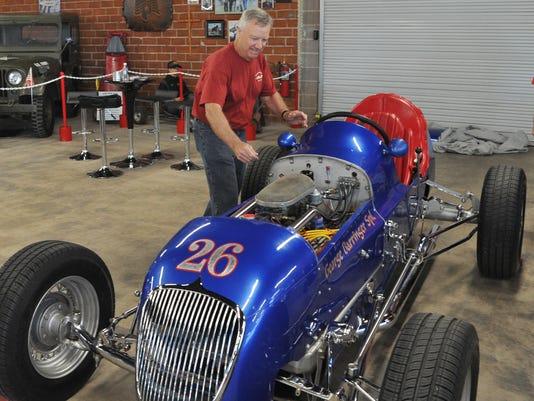George Barringer tribute car