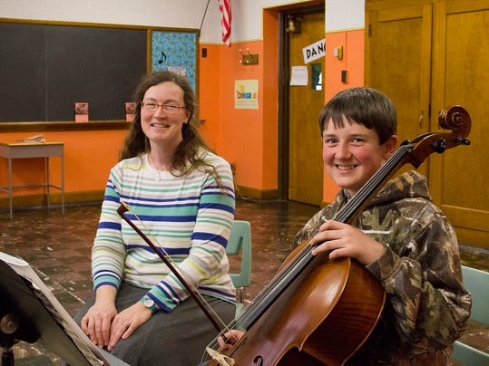 Jenna Miller-cello instructor-and her student Sully Gwost_photo by Kari Ross.jpg
