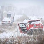 Car headlights required during bad weather under Iowa Senate bill
