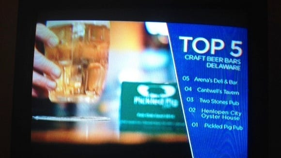 """""""Brew Dogs"""" picks the Top Five Craft Beer Bars in Delaware."""