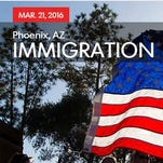 The One Nation event focusing on immigration will be held in Phoenix on March 21, 2016.