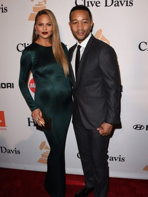 The pair stunned on the red carpet for the Clive Davis