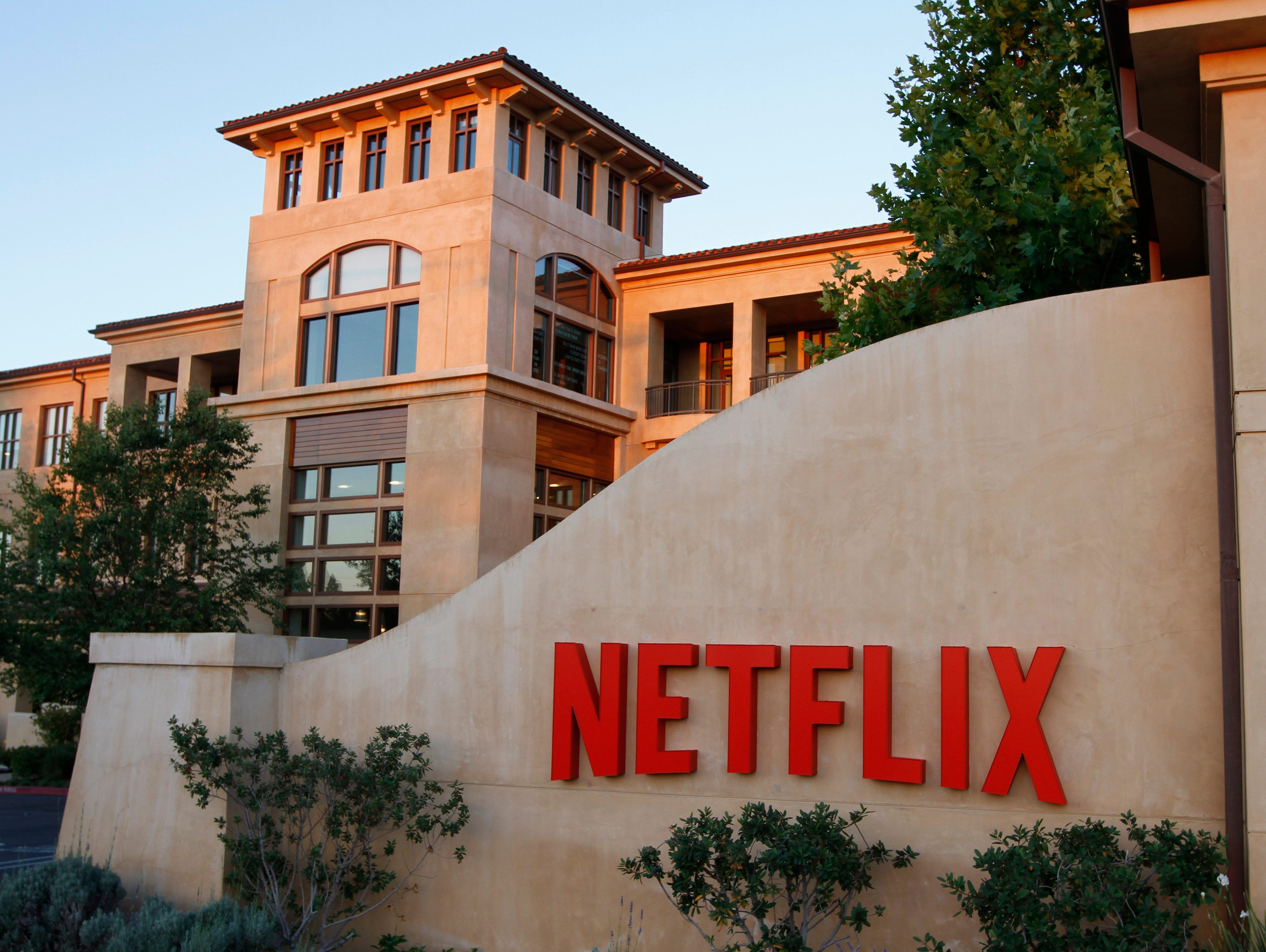 Netflix headquarters in Los Gatos, California, Tuesday, July 8, 2014.