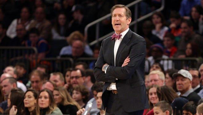 New York Knicks head coach Jeff Hornacek says he's not worried about anything Derek Fisher says about him.