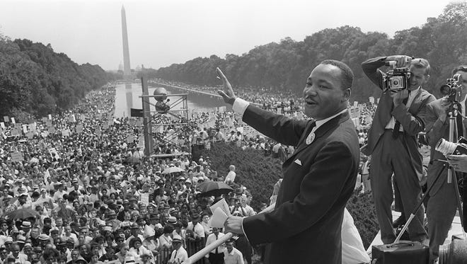 Dr. Martin Luther King Jr. on August 28, 1963