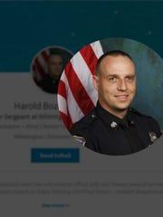 Wilmington Police Master Sgt. Harold Bozeman sued then-Chief