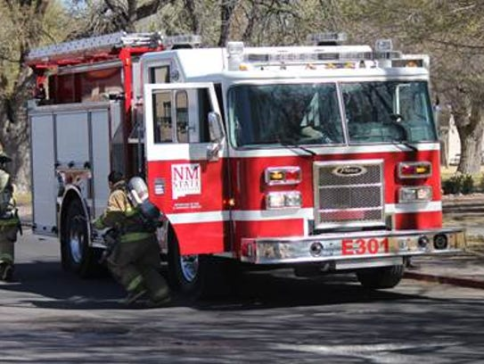 The New Mexico State University Fire Department has