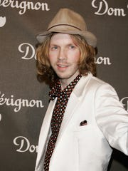 Beck arrives at the International Launch of Dom Perignon Rose Vintage 1996 Champagne by Karl Lagerfeld on June 2, 2006 in Beverly Hills, California.