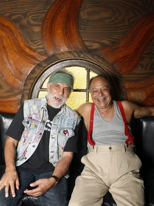 Cheech & Chong will perform on Sept. 14 at the Visalia Fox Theatre.