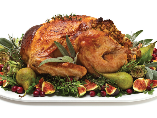 Home Cuisine offers Thanksgiving dinner delivered to your door.