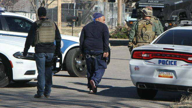 One male suspect was apprehended by Carlsbad police Monday morning.