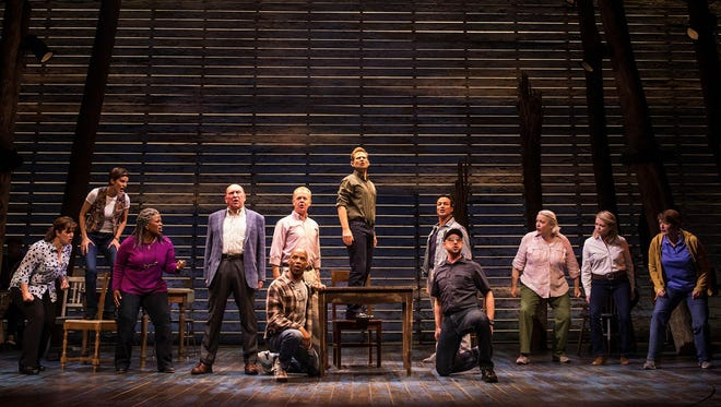 "The cast of ""Come From Away."""