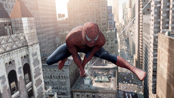 AP SPIDERMAN22.JPG A MOV USA NY
