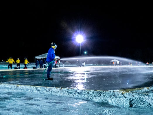 A Silver Lining To Winter Outdoor Ice Skating Rinks