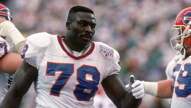 Bruce Smith, the No. 1 overall pick of the 1985 Draft.