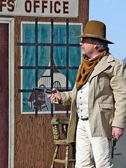 Gunfighters break out their firearms for the annual