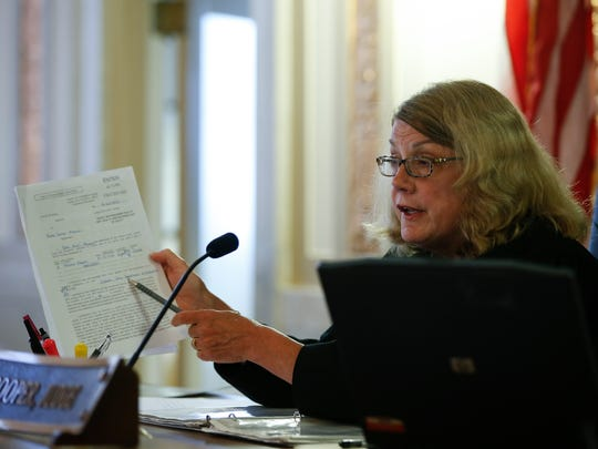 Hamilton County Common Pleas Judge Ethna Cooper in a 2016 file photo.