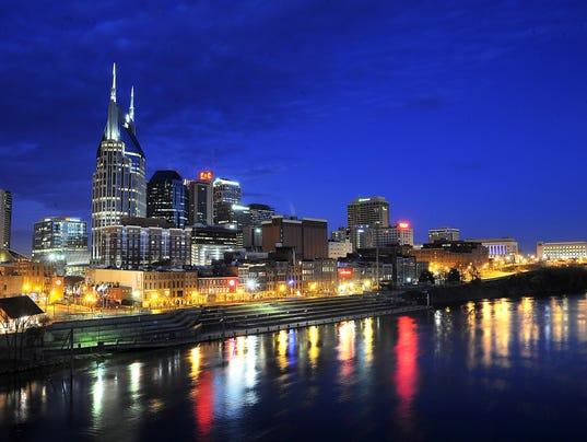 Presto Nashville Skyline