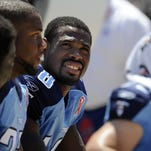 First round, 30th overall: KENNY BRITT, wide receiver, Rutgers