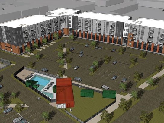 The Linc at Gray's Station will have a courtyard with