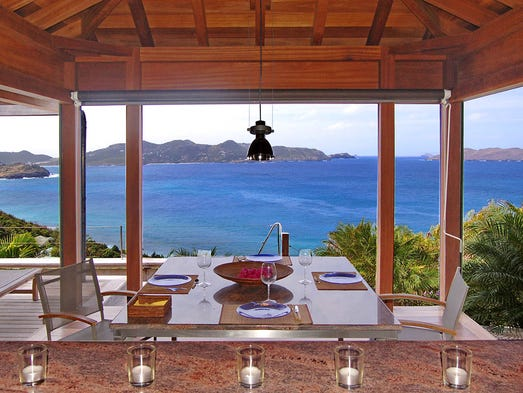 St. Barthelemy. For more information on this rental