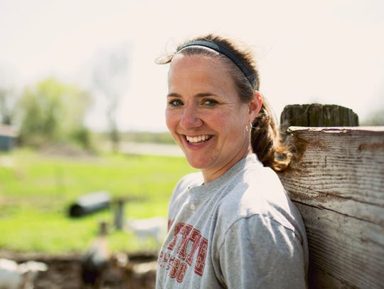 Melissa Eshelman of rural Altoona was a subject of