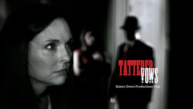 Film poster for the 2014 Top 20 film 'Tattered Vows.'