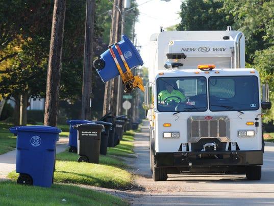 Recycling truck JUMP