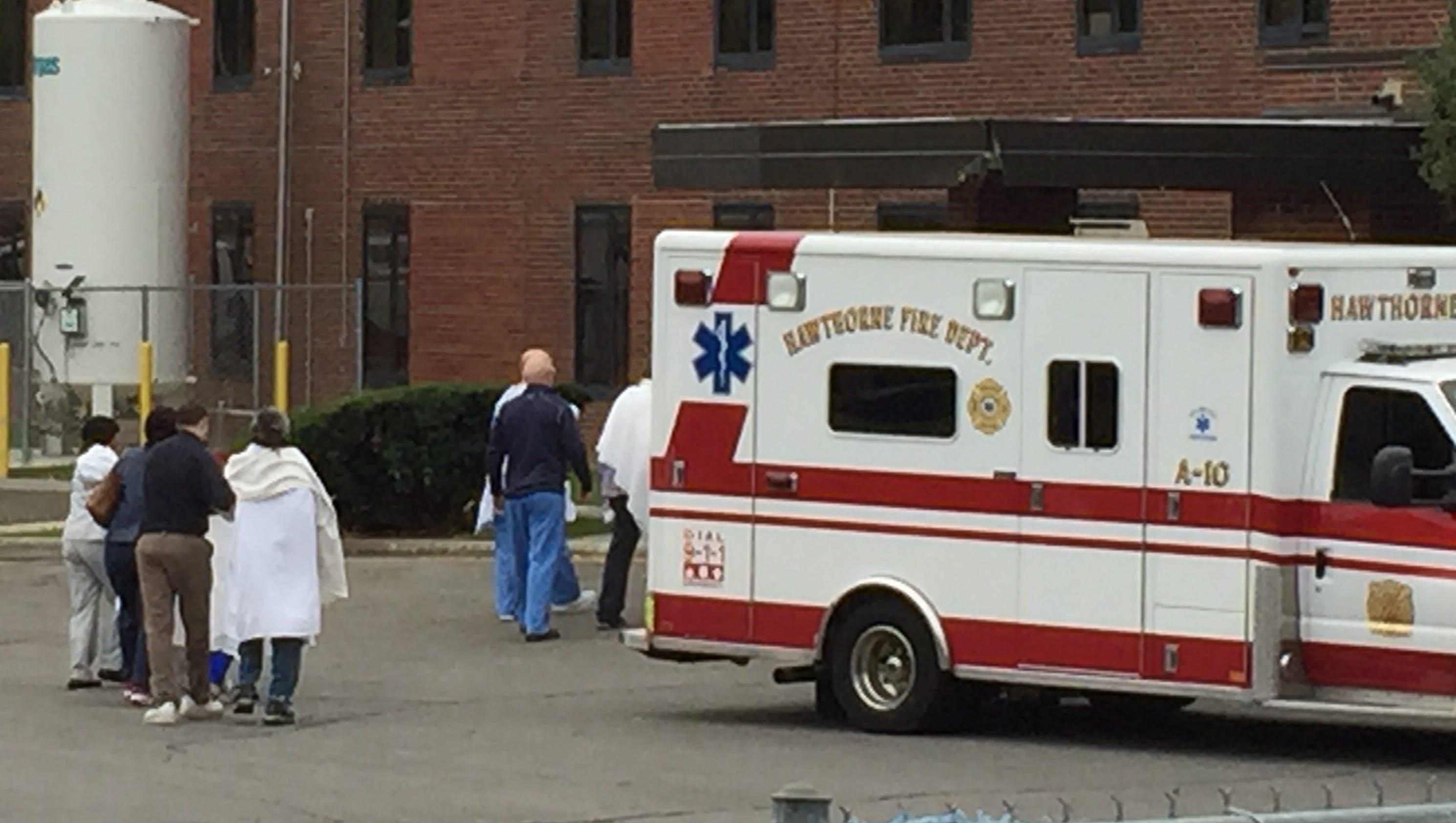 kitchen fire at westchester medical center building