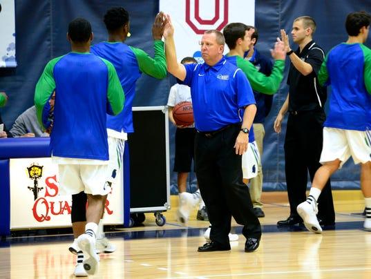 University of West Florida men's basketball take on Spring Hill Badgers