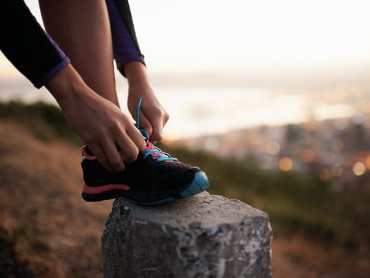 Fastening those laces for a fast-paced fun