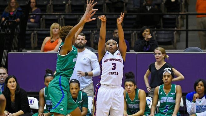 Northwestern State's Keisha Lee will play her final home game on Thursday.
