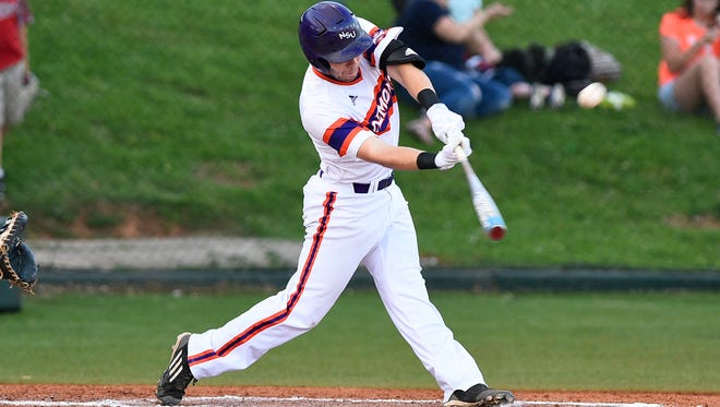 Northwestern State's David Fry was 3-for-4 on Friday night.