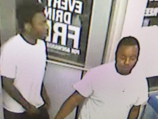 Johnston police are seeking these men in connection