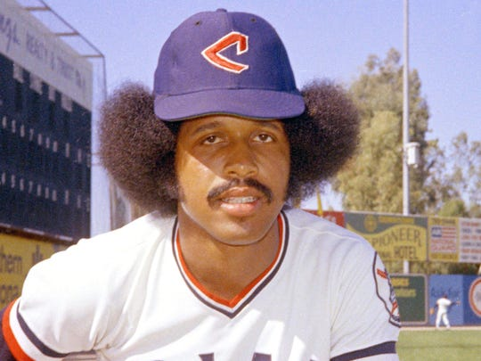 In this 1974 file photo, Cleveland Indians baseball