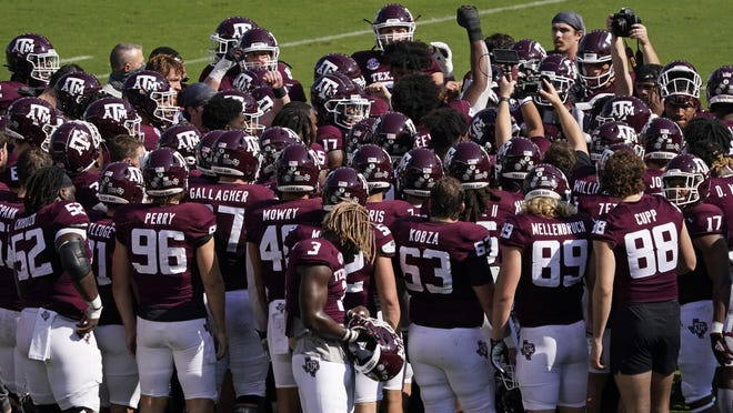 Texas A&M is 5-1, ranked No. 5 in the country, has beaten the Florida Gators -- and probably is being overlooked this season. The Aggies' lone loss was on the road to Alabama.